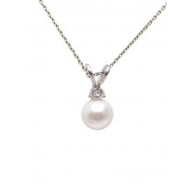 COLLIER TAO WHITE - Argent...