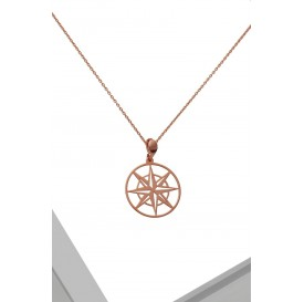 COLLIER MAKIAN ROSE GOLD -...
