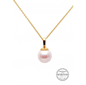 COLLIER BORA BORA ROSE -...