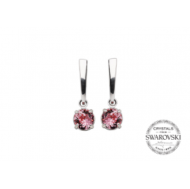 BOUCLES CATALINA ROSE -...