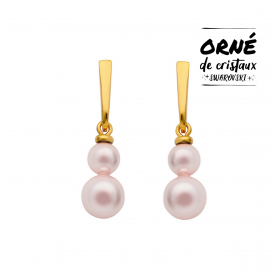 BOUCLES MARIE GALANTE ROSE...