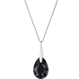 Collier PEAR BLACK en...
