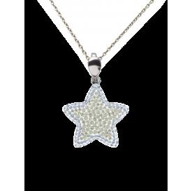 Collier Full cristal STAR...